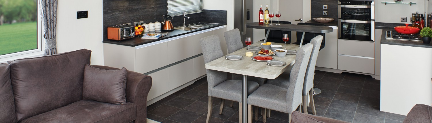 Carnaby Envoy - Lounge & Kitchen